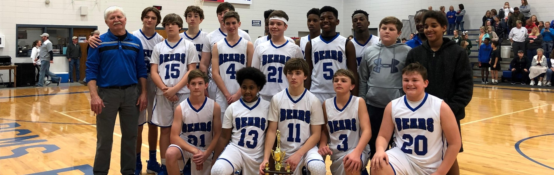 2018-2019 8th Grade Boys Basketball Conference CHAMPS
