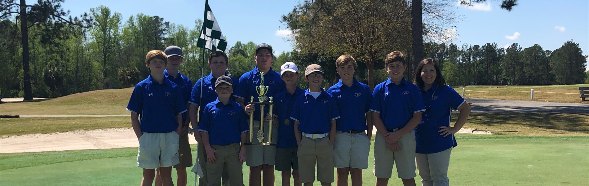 2018-2019 Boys Golf Conference CHAMPS
