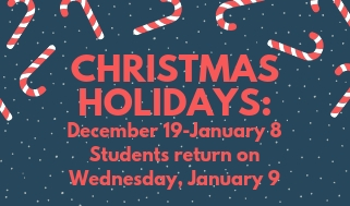 Christmas Holiday for Students