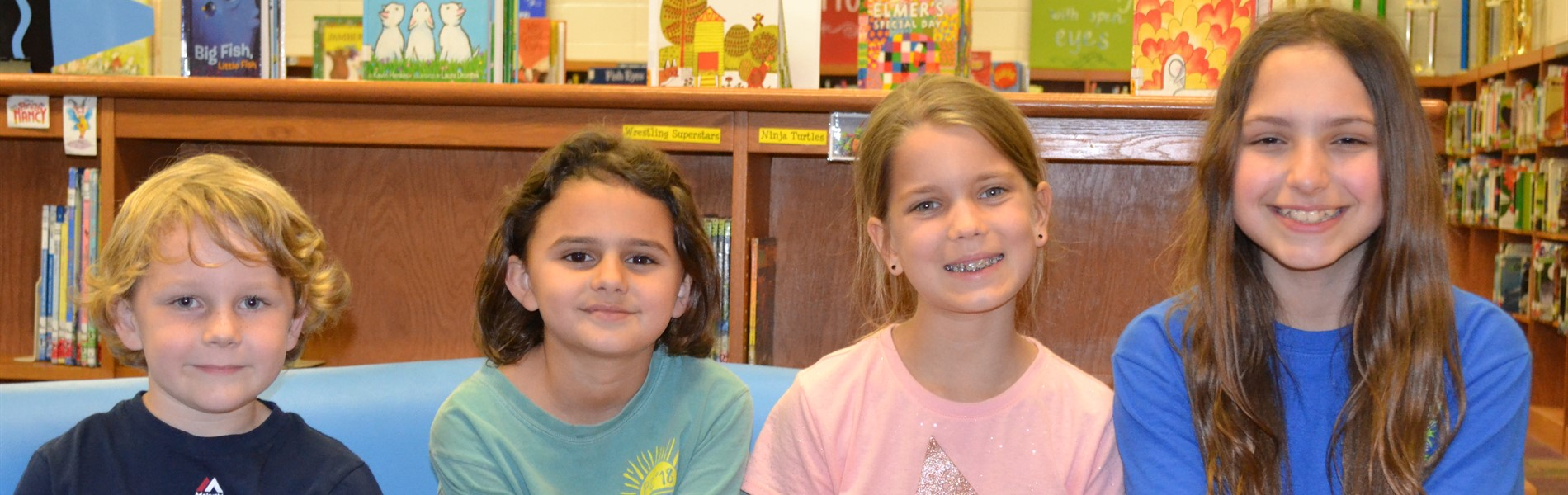 Young Author's District Winners